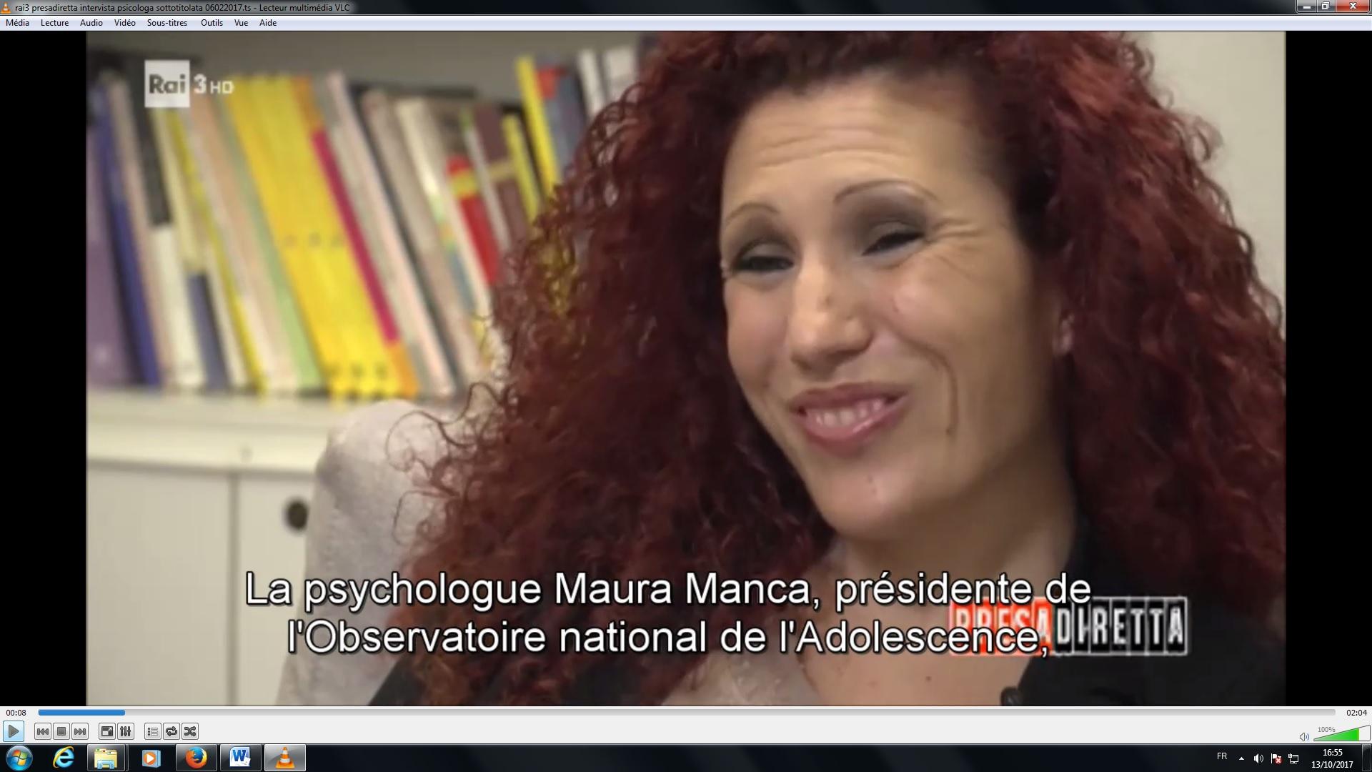 sous-titrage italien français reportage émission rai3 presa diretta 06022017 traducteur interprète italien français Les mots de Gianni UCA Clermont Auvergne